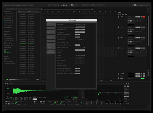 JZA Spotify Theme for Ableton 10 by jarradsimonetti