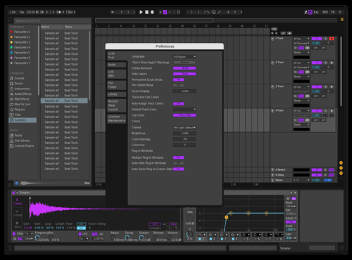 MILLI Theme for Ableton 10 by Nicolas