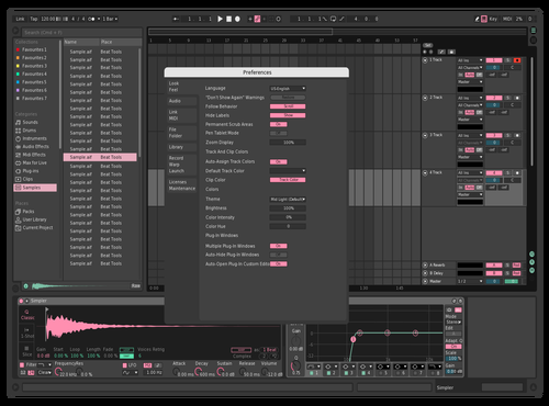 Roses Theme for Ableton 10 by samoletovp