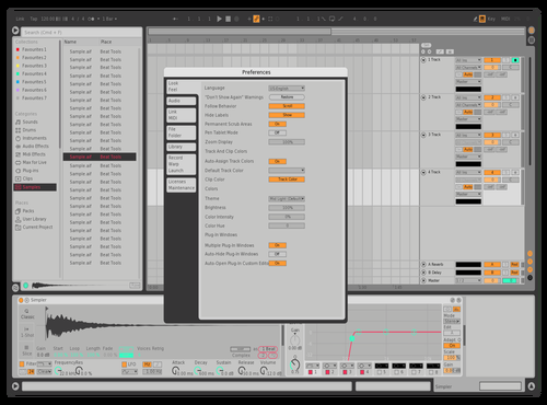 Toplight Theme for Ableton 10 by Agrest