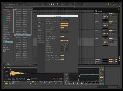 Beigestyle Theme for Ableton 10 by AlexeyLuch
