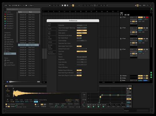 BlK Theme for Ableton 10 by Ryuya