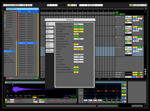 Hundz Theme for Ableton 10 by herman