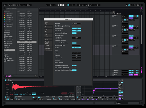 Pinkii Theme for Ableton 10 by Reaver