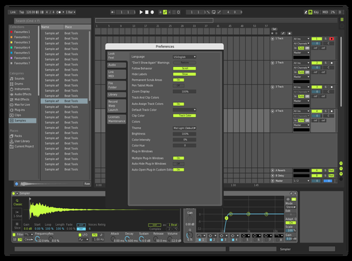 New one Theme for Ableton 10 by DRstelth