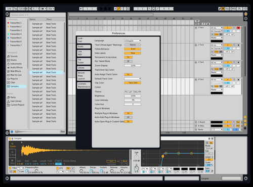 Andrei Theme for Ableton 10 by Andrei Stefan Manta
