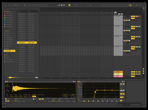 Yello Theme for Ableton 10