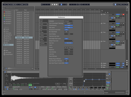 Logic Pro Theme for Ableton 10 by Savel1y