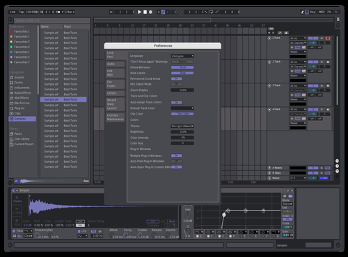 RMM Theme for Ableton 10 by Nivaloff