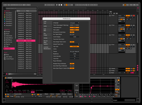 PinkDragon Theme for Ableton 10 by Dimitrios Rigas