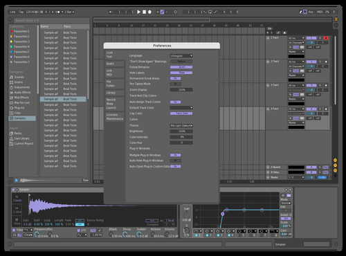 Mid Dark Purple Theme for Ableton 10 by Hugo Becker
