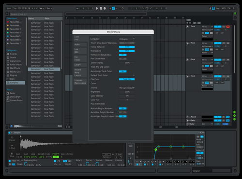PreSonus concept Theme for Ableton 10 by DRstelth