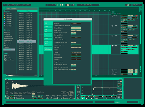 Mint Theme for Ableton 10 by AnDo