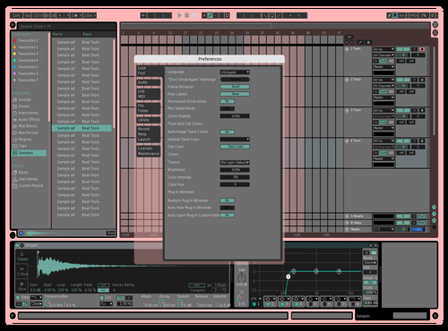 Watermelon <3 Theme for Ableton 10 by Juju