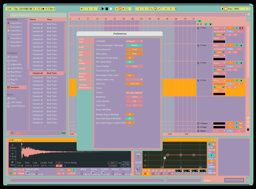 Smoothie Theme for Ableton 10 by Huy