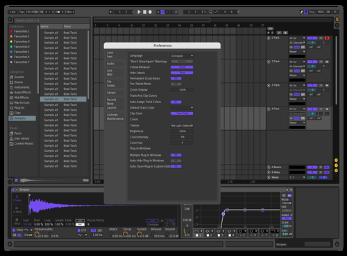 Poiple Theme for Ableton 10 by L