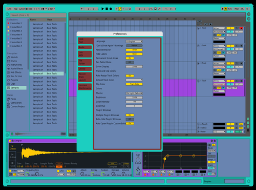 Hs Theme for Ableton 10 by Chuden'