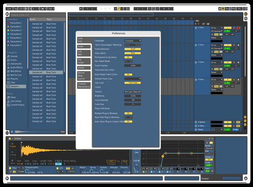 BluE White Theme for Ableton 10 by JAMES HARDY-MARTIN III