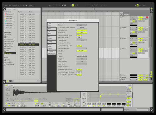 Massive X Green Theme for Ableton 10 by IONCROPS