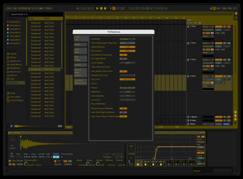 Olimpo Theme for Ableton 10 by fabio flores