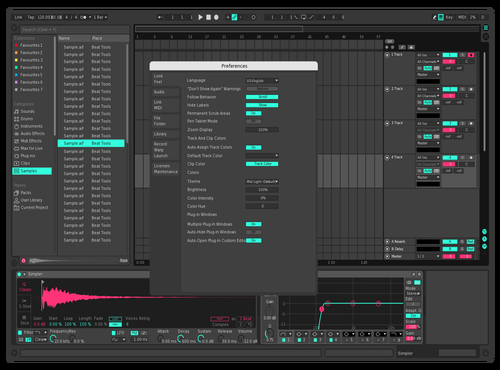 RetroFuture v1 Theme for Ableton 10 by Maximilian Hartmann
