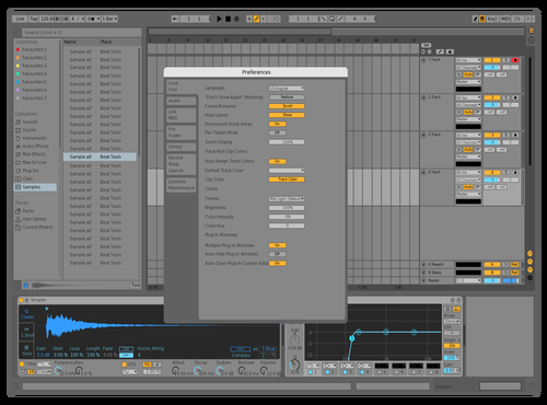 Mainish Theme for Ableton 10 by Bertbakker