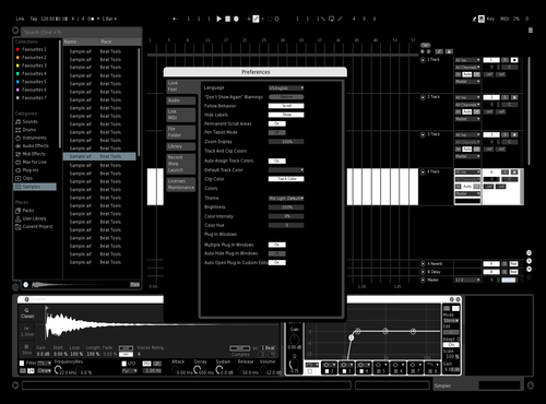 NINEX 3.0 Theme for Ableton 10 by NINEX