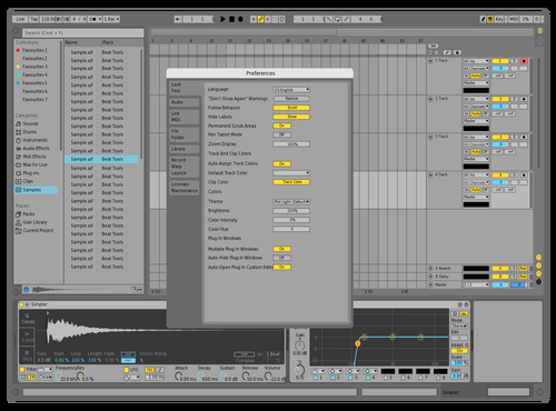 Lighterum Theme for Ableton 10 by DRstelth