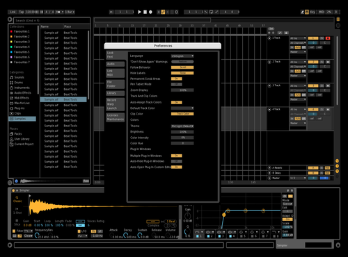 Black Theme for Ableton 10 by chaotic_sarcastic