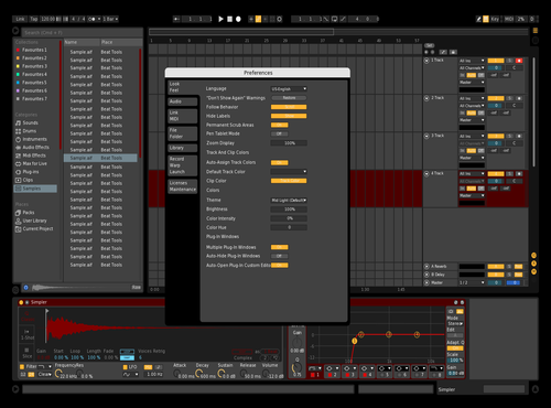 Ttt1 Theme for Ableton 10 by piegeprod