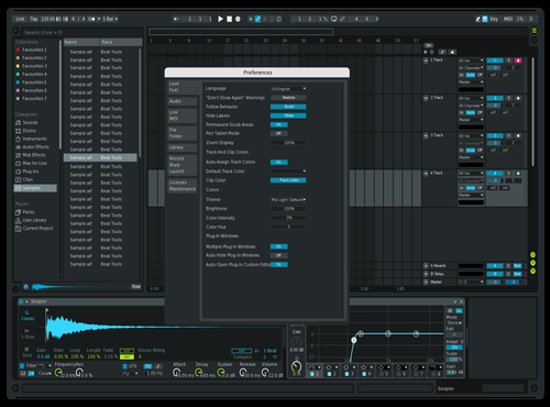 PureAV Theme for Ableton 10 by therealjw