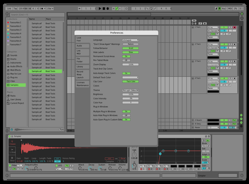 SLIGHT CHANGES Theme for Ableton 10 by ori
