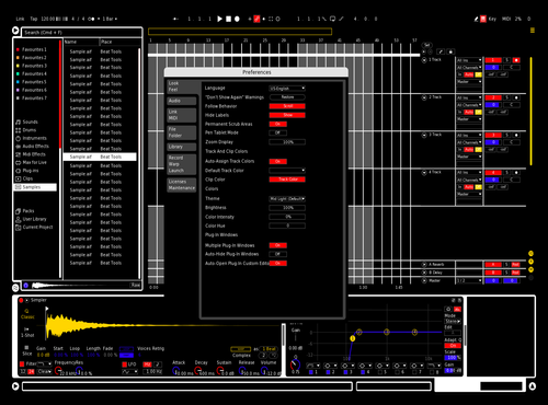 De Stijl v0.1 Theme for Ableton 10 by isch_