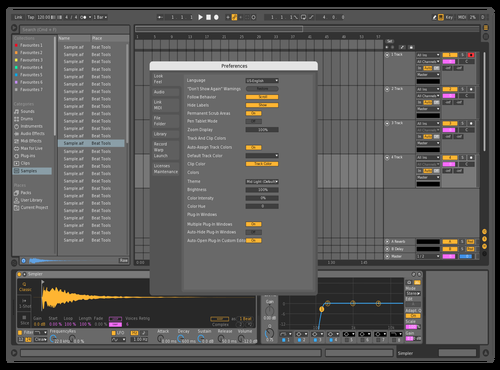 Multi1 Theme for Ableton 10 by Omri Multi