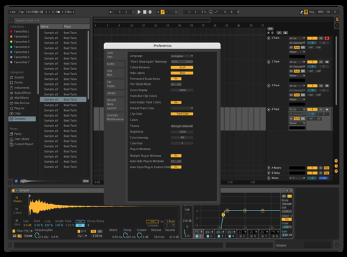 DJK_Dark Theme for Ableton 10 by Dave King