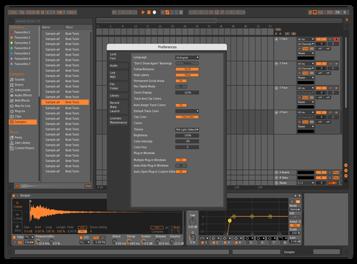Orangy Theme for Ableton 10 by Kofi