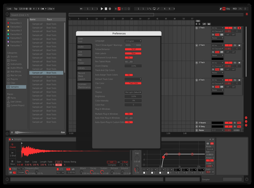 P1 Theme for Ableton 10 by paarabola