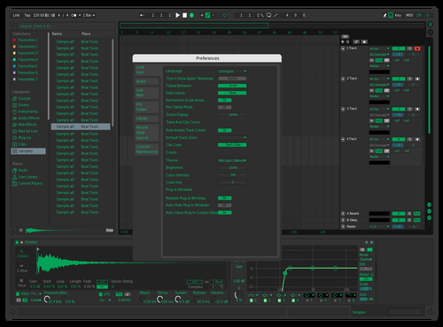 Fliko Theme for Ableton 10 by FLIKO
