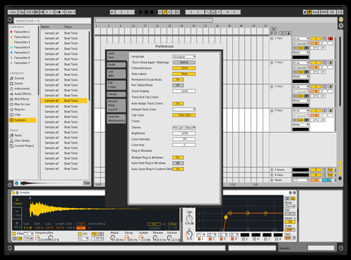 Michi 6 Theme for Ableton 10 by Michael Verhovec