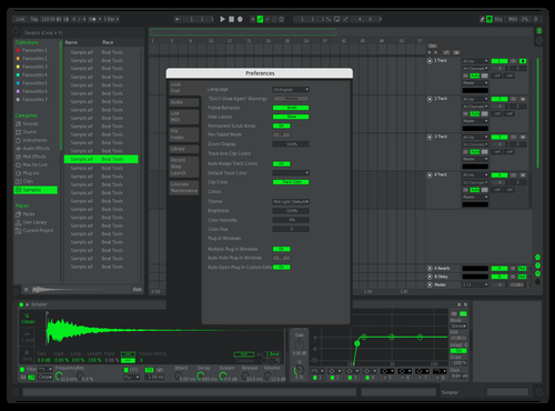 Xbox Theme for Ableton 10 by wattup