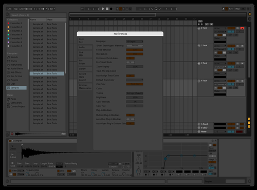 Very Dark Theme for Ableton 10 by Michael