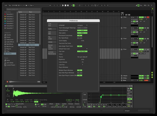 11green Theme for Ableton 10 by chabert
