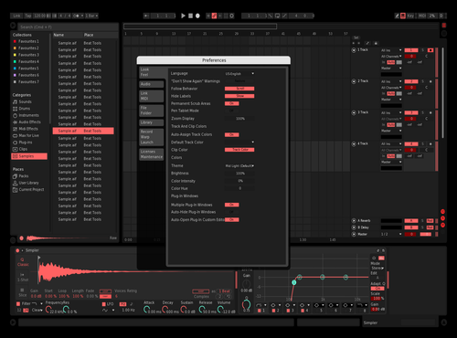 Red-x Theme for Ableton 10 by Vadim