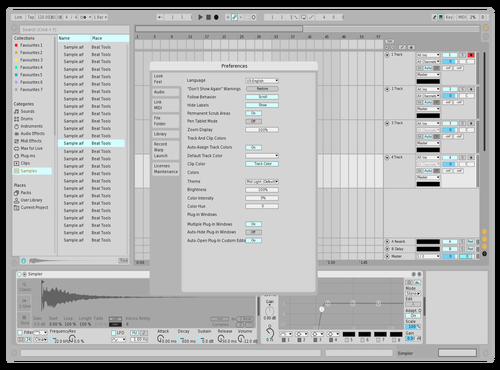 Lightness Edit1 Theme for Ableton 10 by Sean Crossan