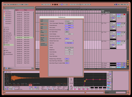 Pastel Theme for Ableton 10 by virg
