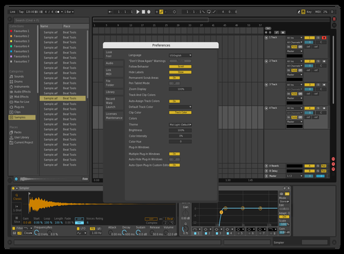 Good Theme for Ableton 10 by Deca