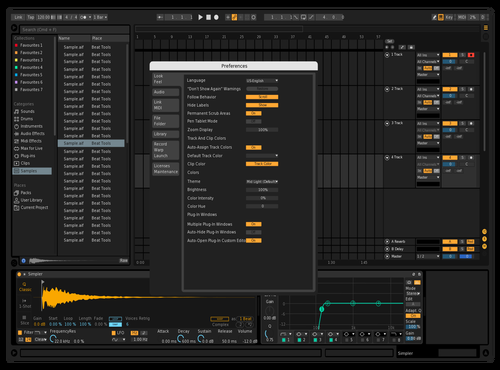 Simple Dark Theme for Ableton 10 by davidmorra