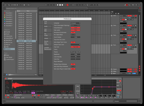 Mid dark eater Theme for Ableton 10 by eater