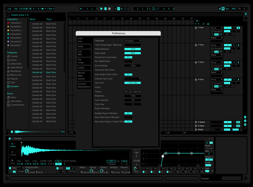 STK BLU Theme for Ableton 10
