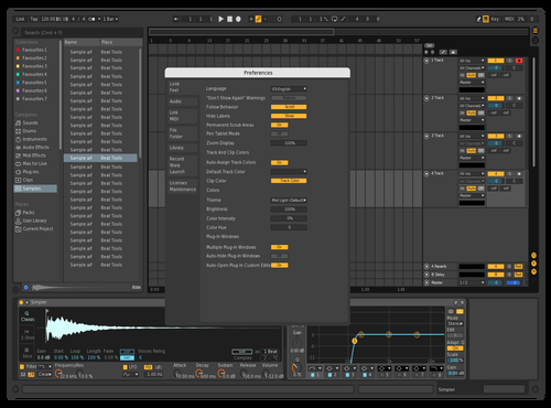 DarkRemake1 Theme for Ableton 10 by david